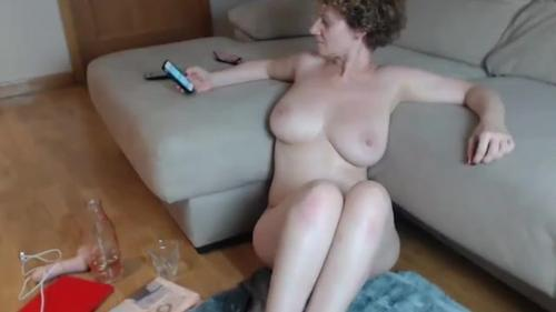 Bid cock mature big boobs
