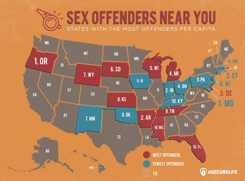 Sex offender neighbor map