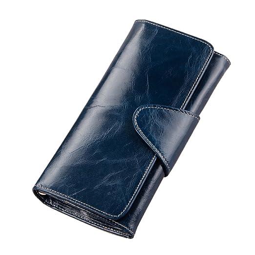 Credit blue card clutch holder vintage