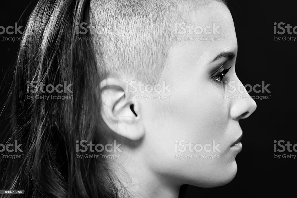 Album head photo shaved