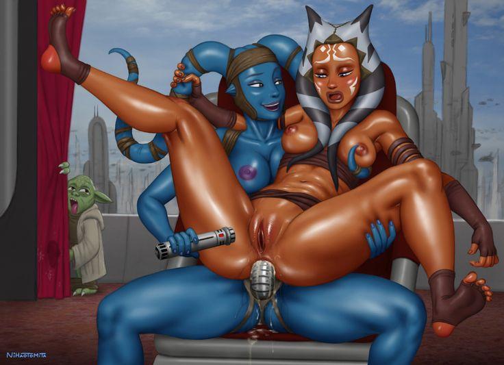 Star wars ahsoka and aayla secura porn