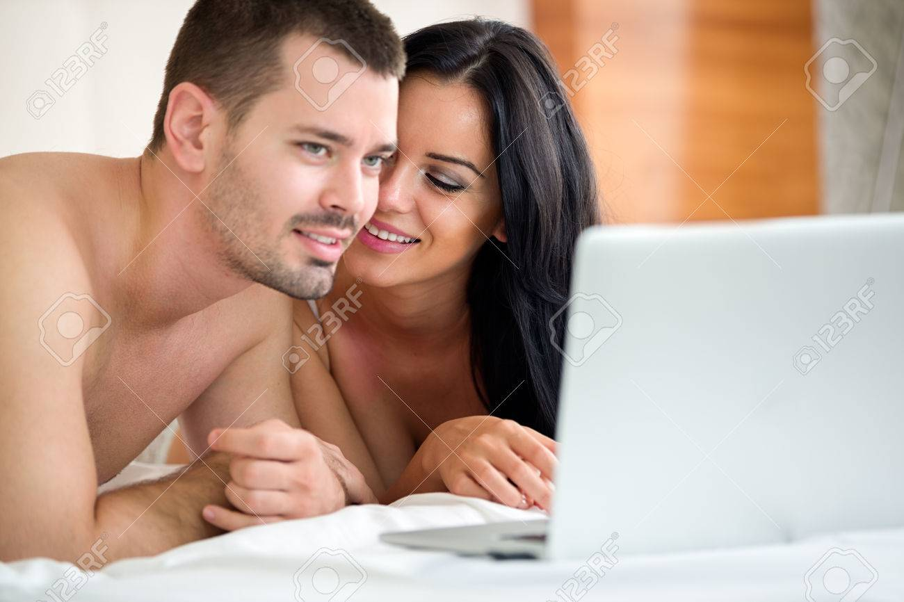 Couple watching porn together