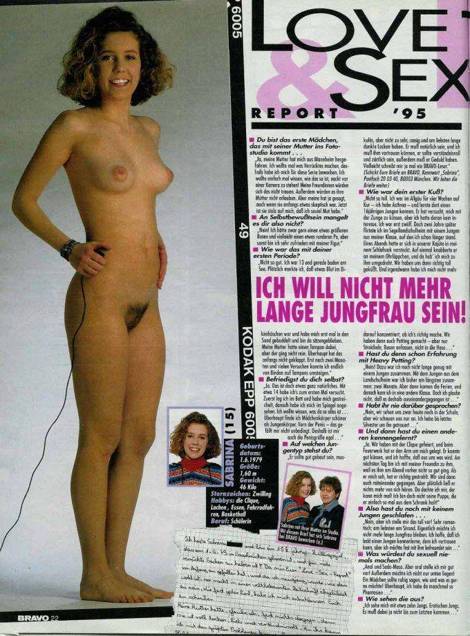 German girls nude bravo