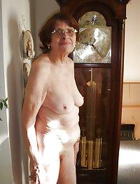 Old granny saggy boob pic