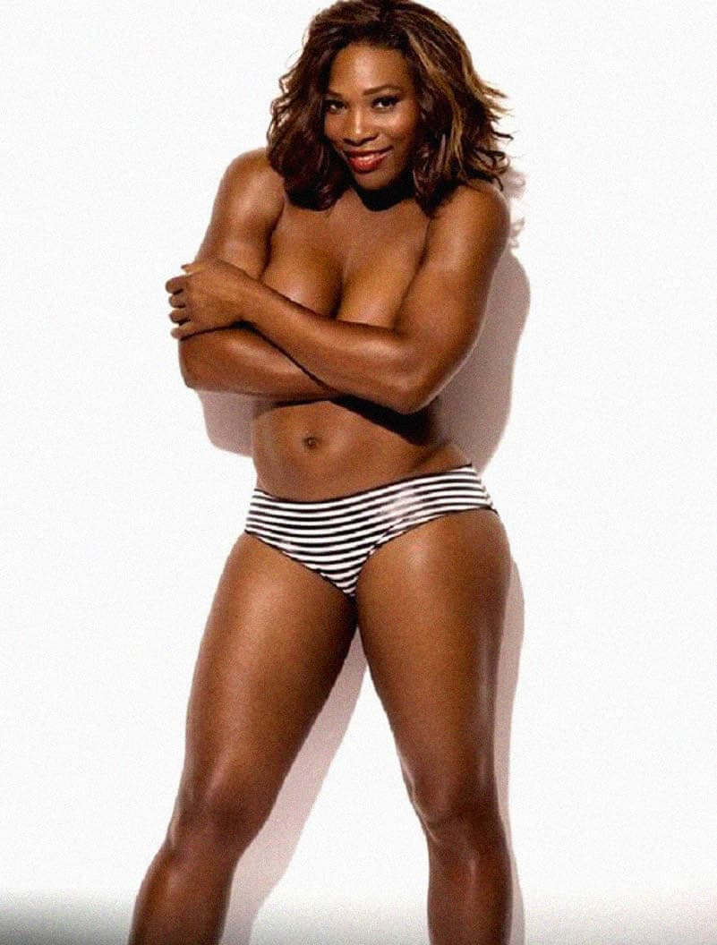 Ebony serena williams nude ass