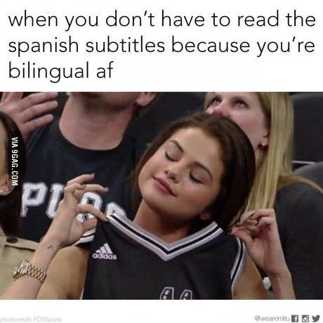 Funny memes spanish english