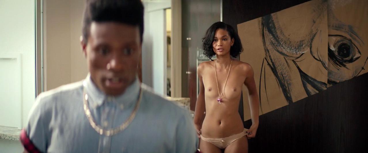 Chanel iman tits topless