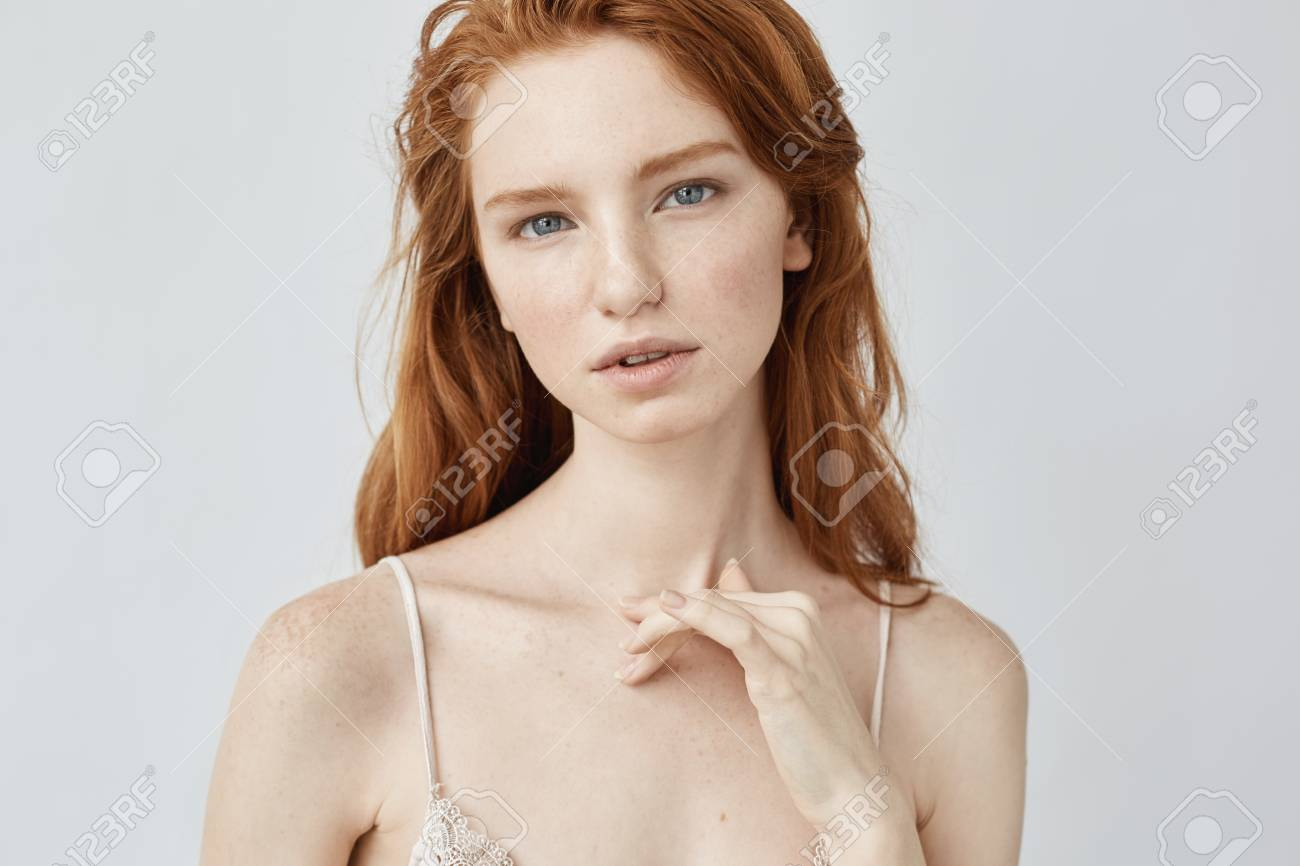 Beautiful redhead girls with freckles