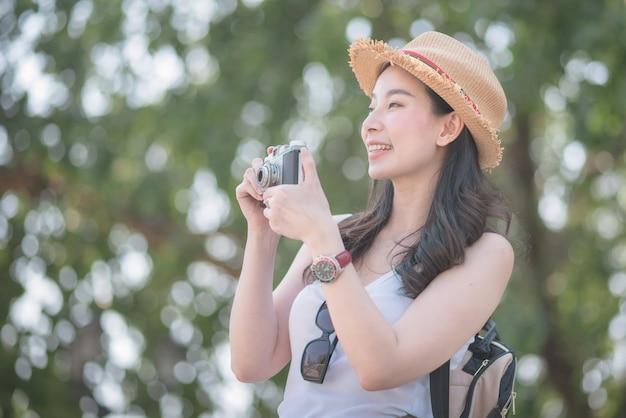Beautiful asian girl solo