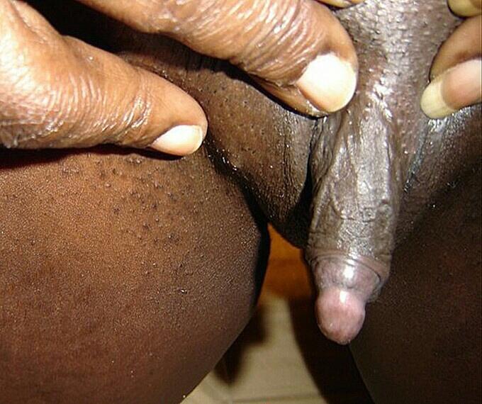 Big clit in africa. com