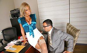 Joanna jet leather mistress