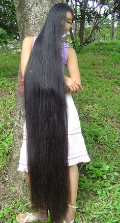 Long hair fetish tgp
