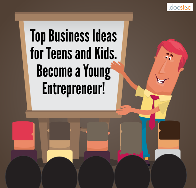 Start your own business for teens