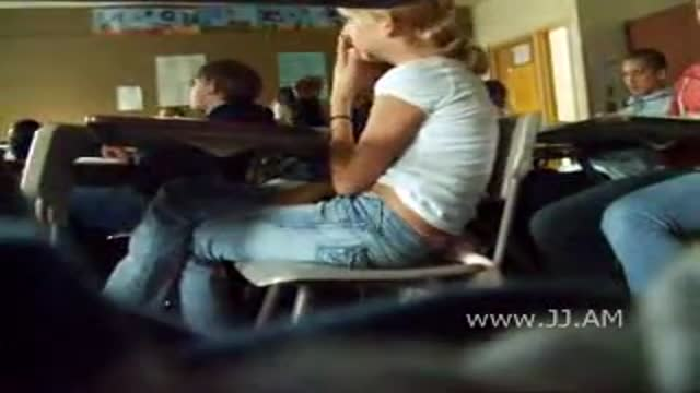 Girls masterbating in class