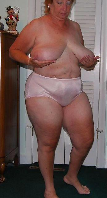 Bbw mature granny panty