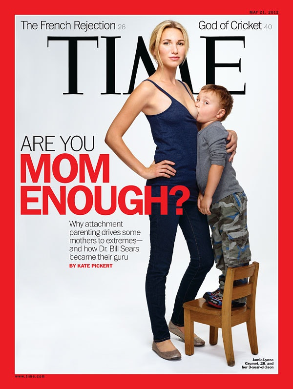 Controversial photos breast feeding age