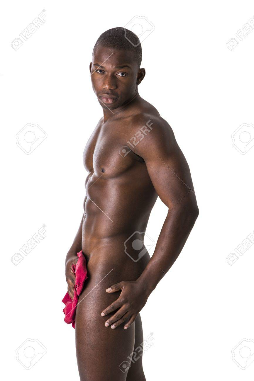 Young sexy nude black men