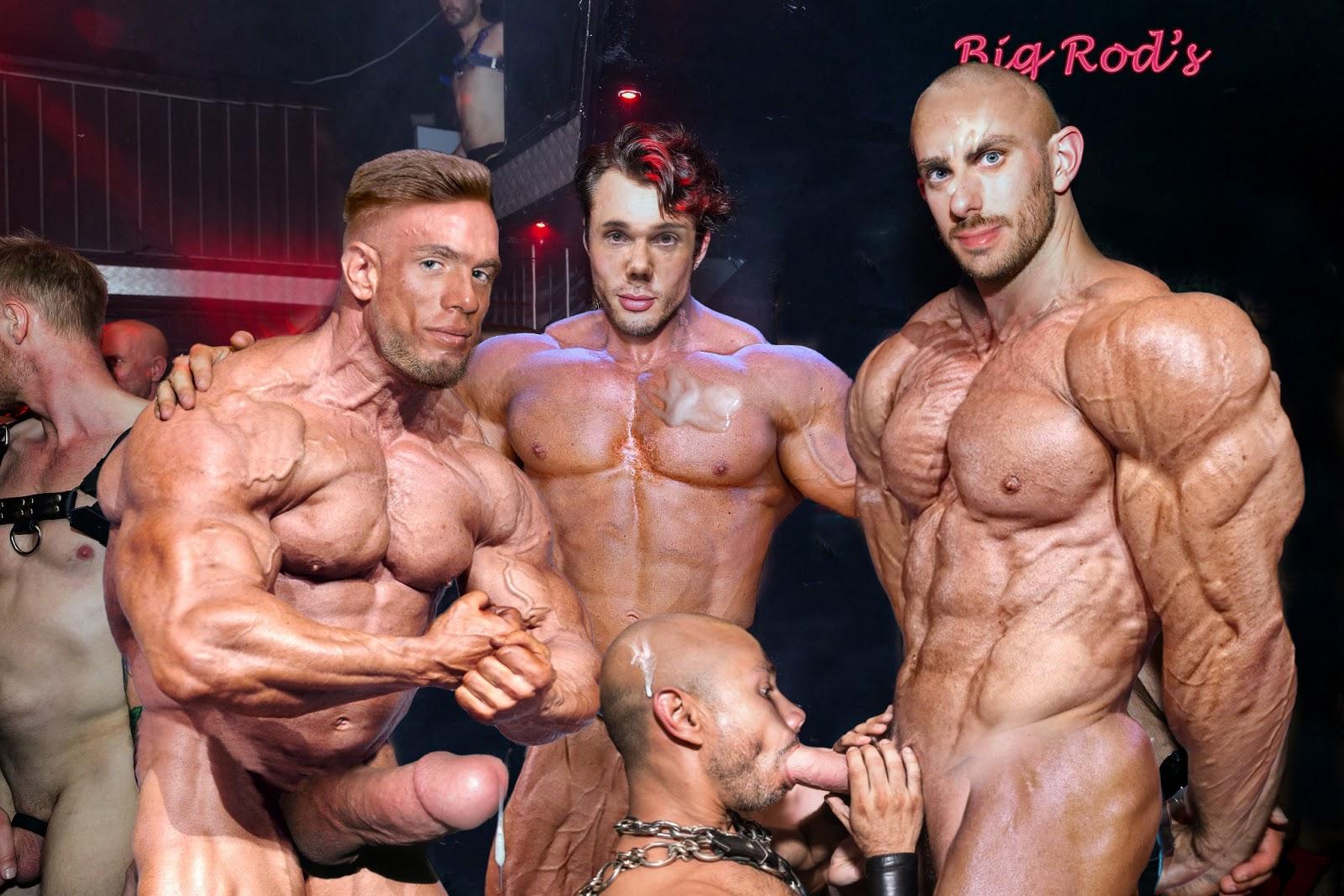 Men naked sex in gym