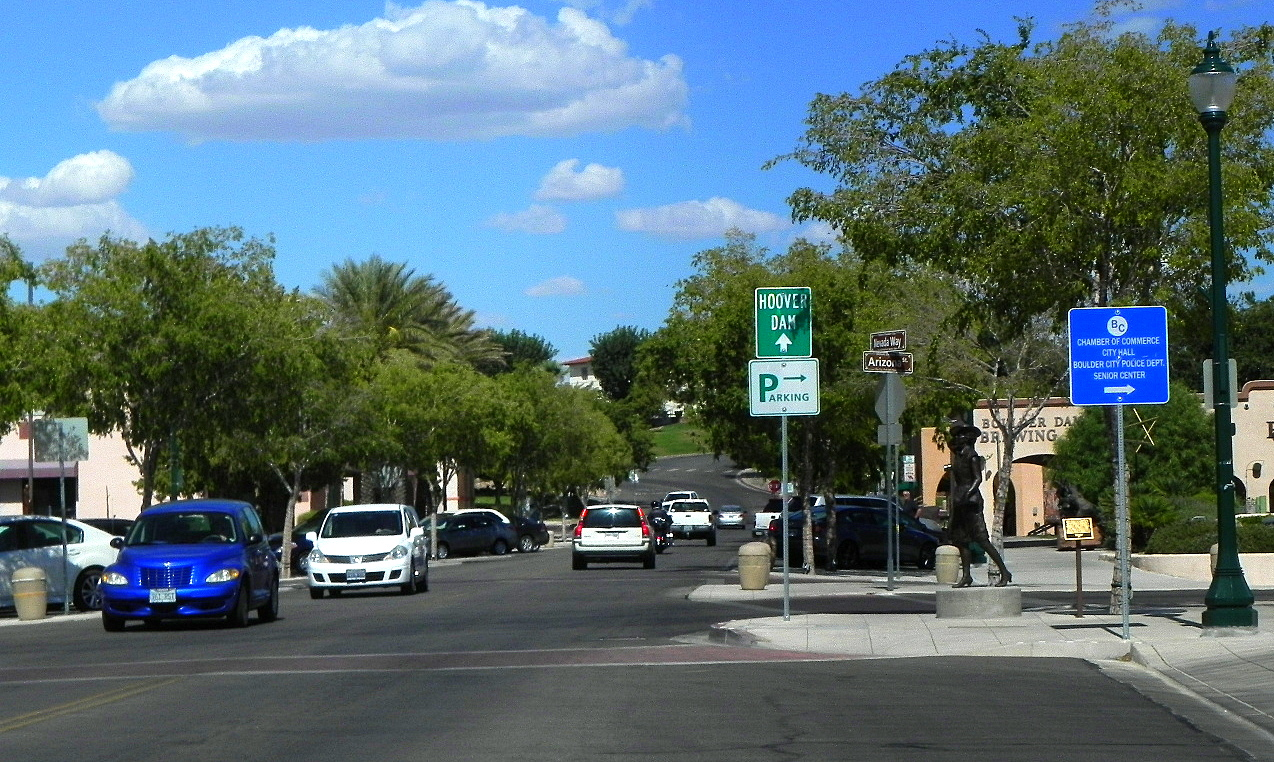 Getting from the strip to boulder city