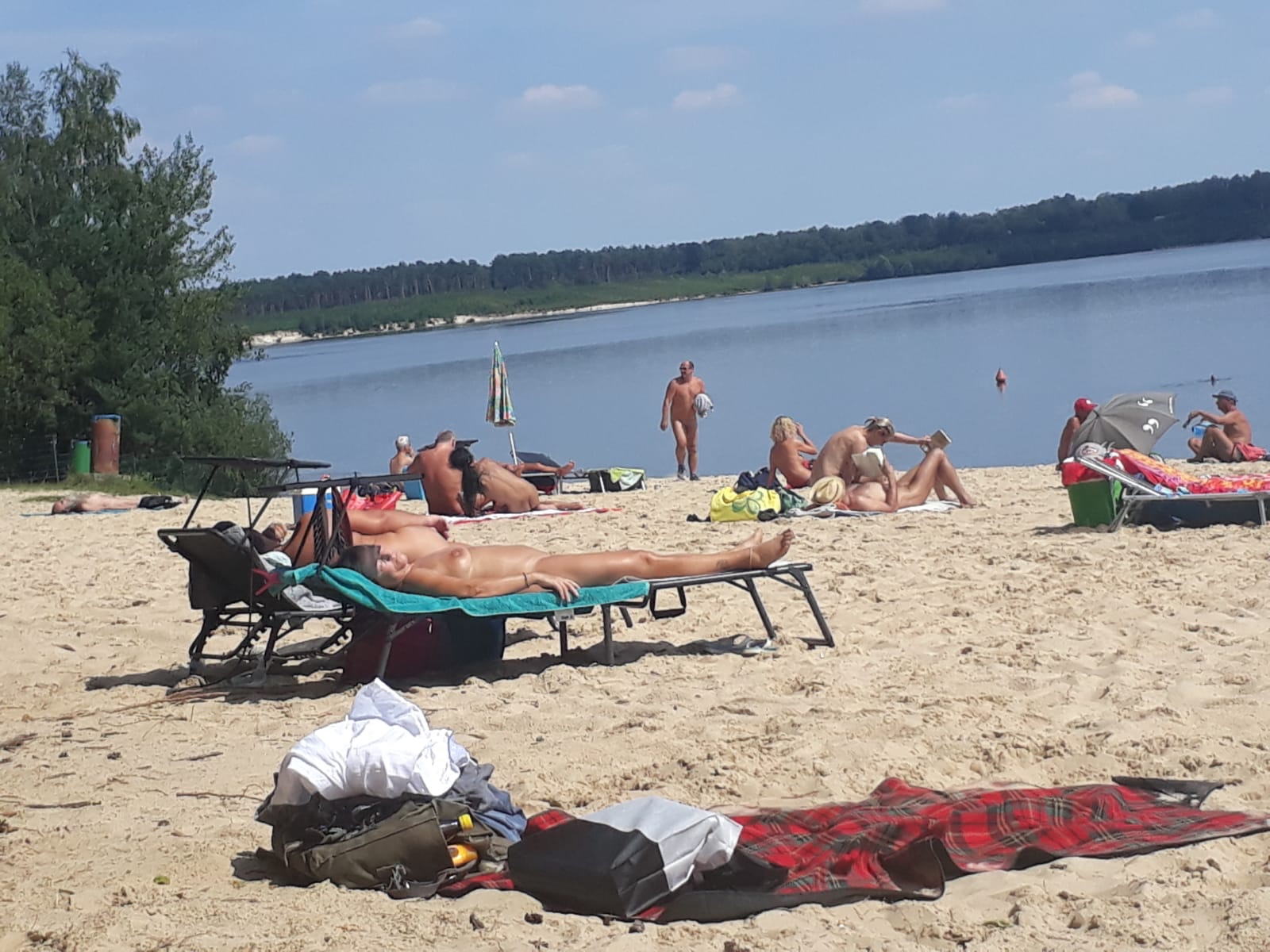 Spanish nudist beach resort