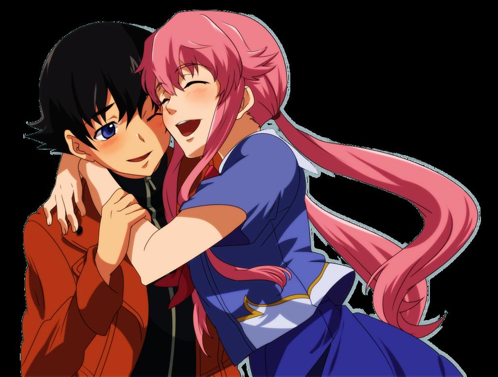Mirai nikki future diary yuno and yuki