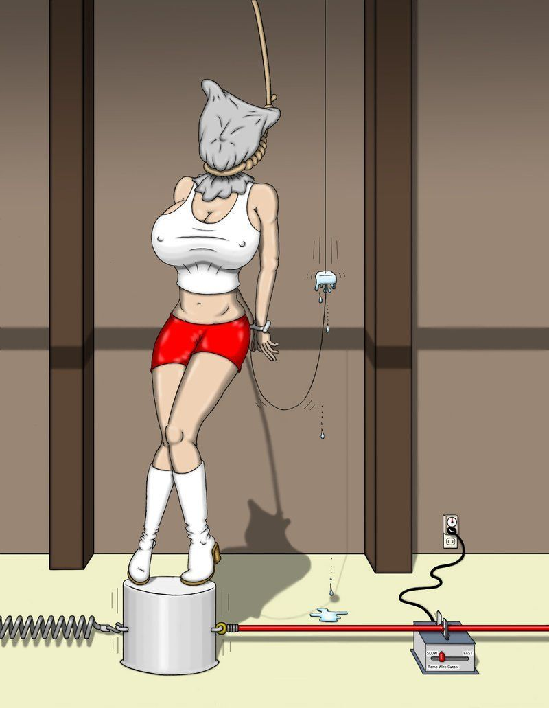 Trapped in self bondage