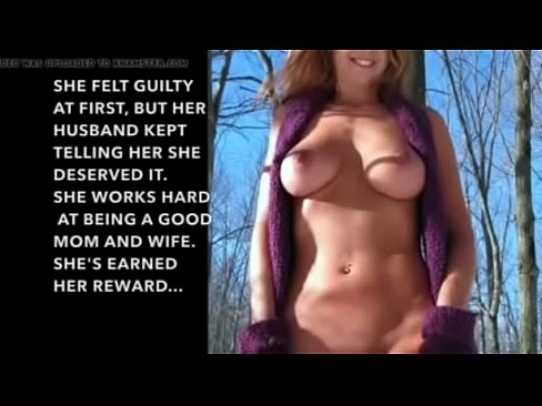 Hotwife cuckold forced caption