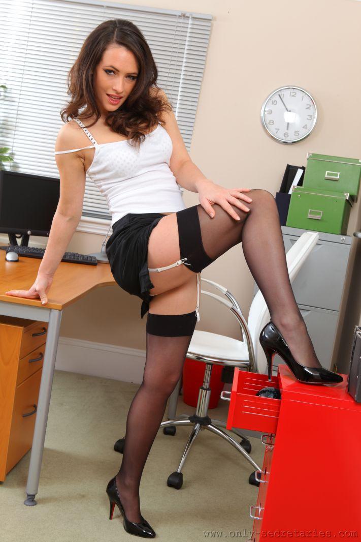 Sexy only tease secretaries