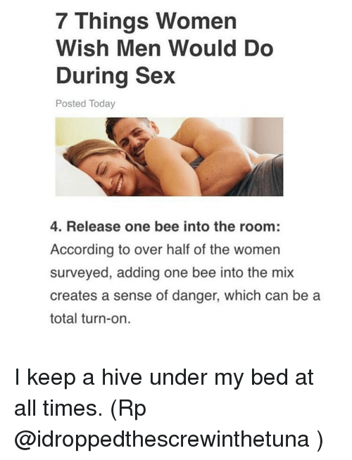 Funny things about sex