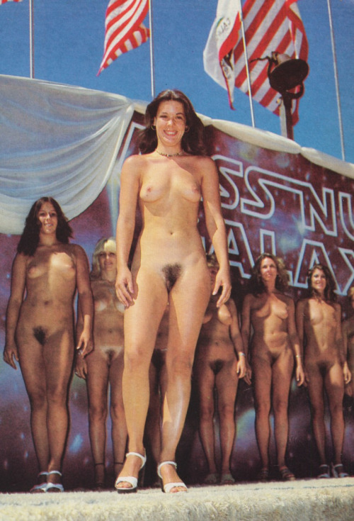 Miss nude pageant winner