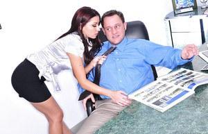 Office sluts sucking cock