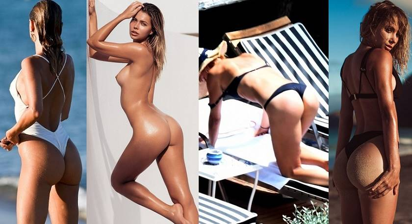 Beautiful nude celebrity ass
