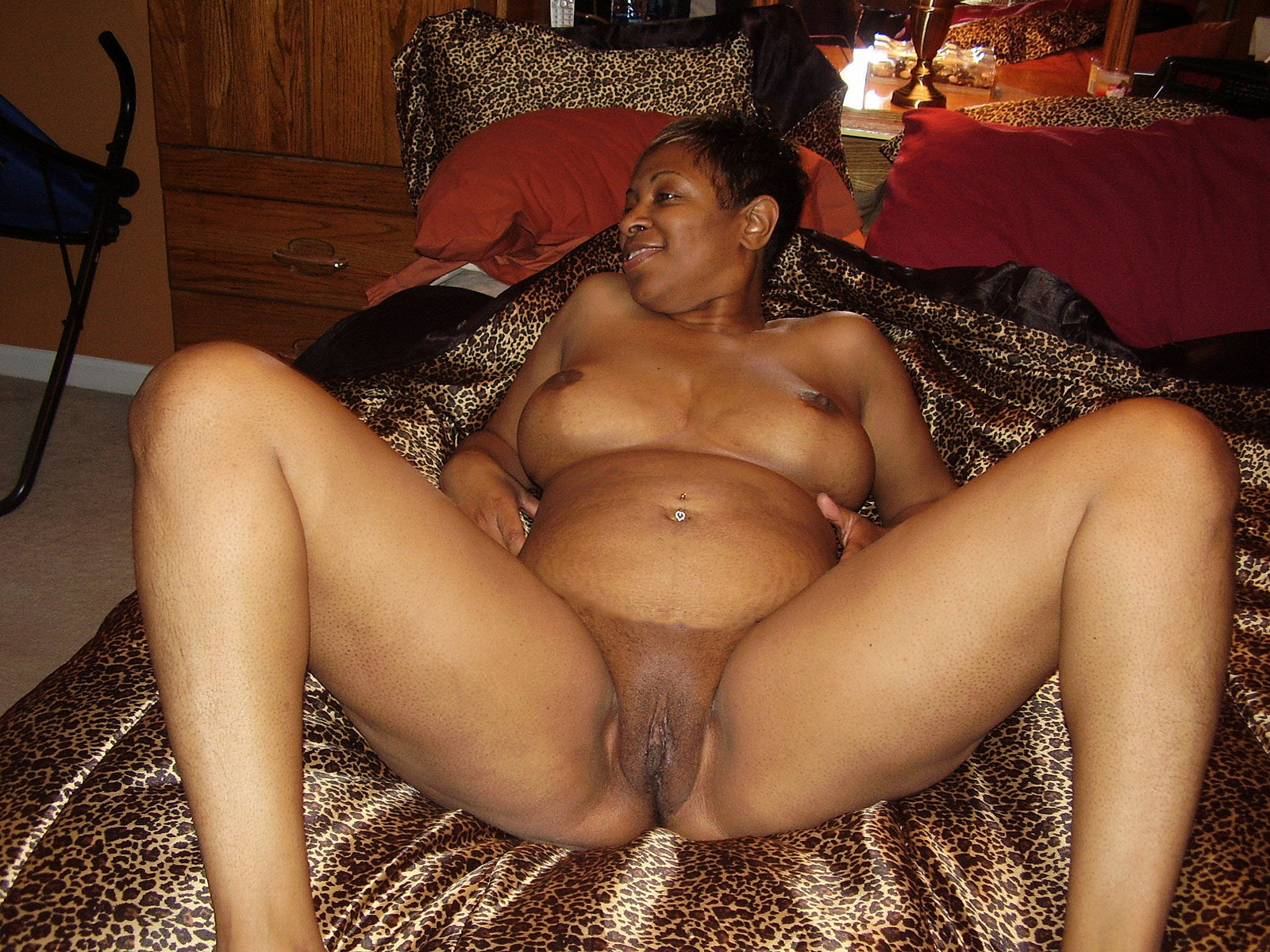 Black fat spread pussy