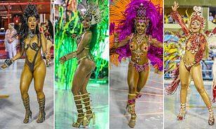 Brazilian festival nudist boy