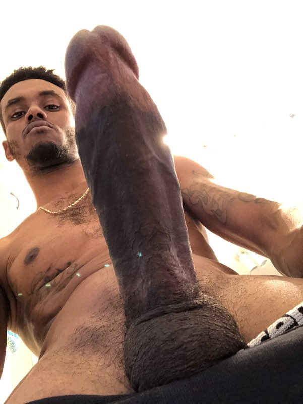 Nude black men with erections