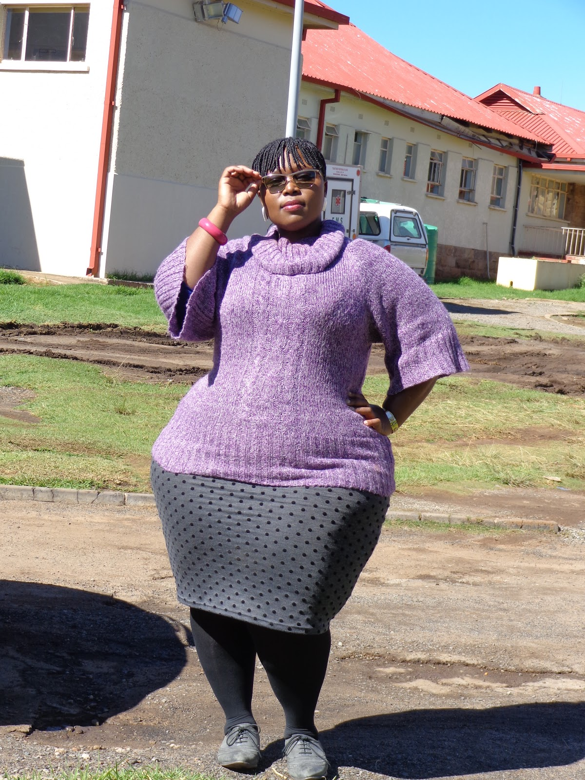 Big black african mzansi woman ass nude