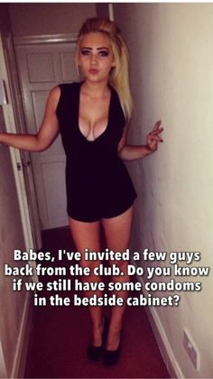 Wife boyfriend cuckold caption bikini