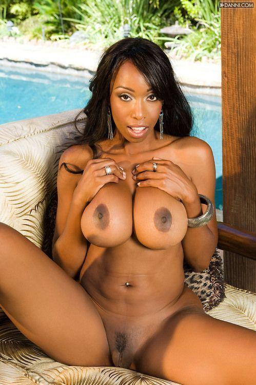 Naked black porn star