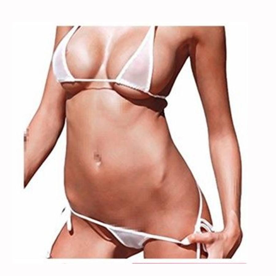 Micro bikini see thru photos