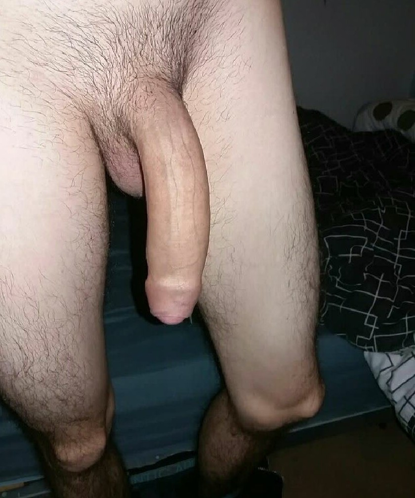 Big dick close up uncut