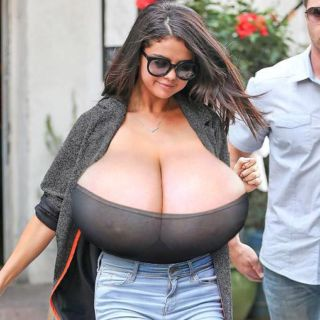 Selena gomez morph tits