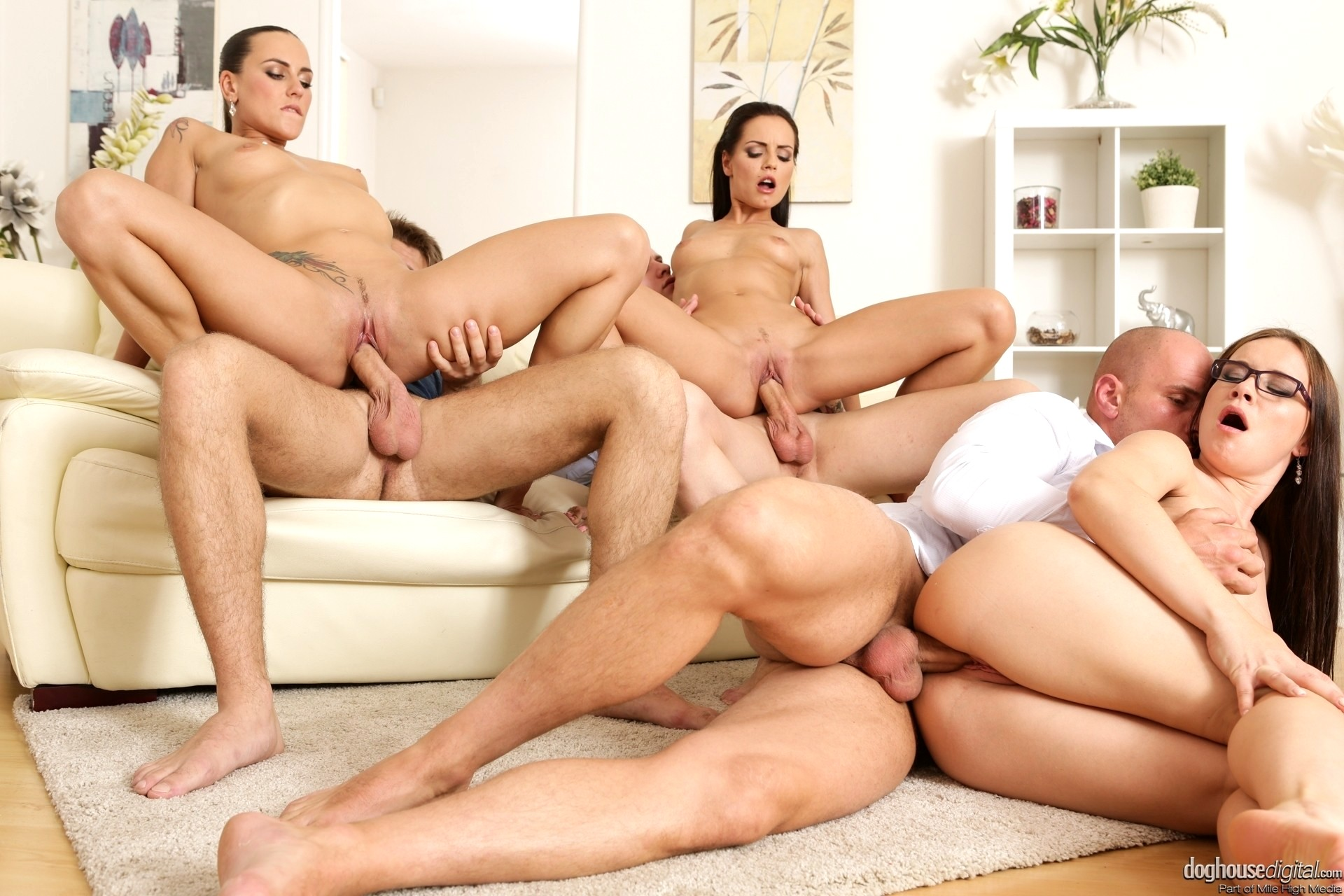 Group sex galleries vids