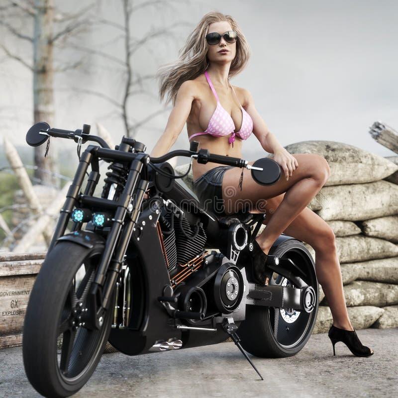 Chopper motorcycle models girls