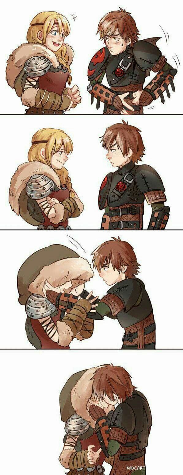 Train your dragon astrid and hiccup hentai