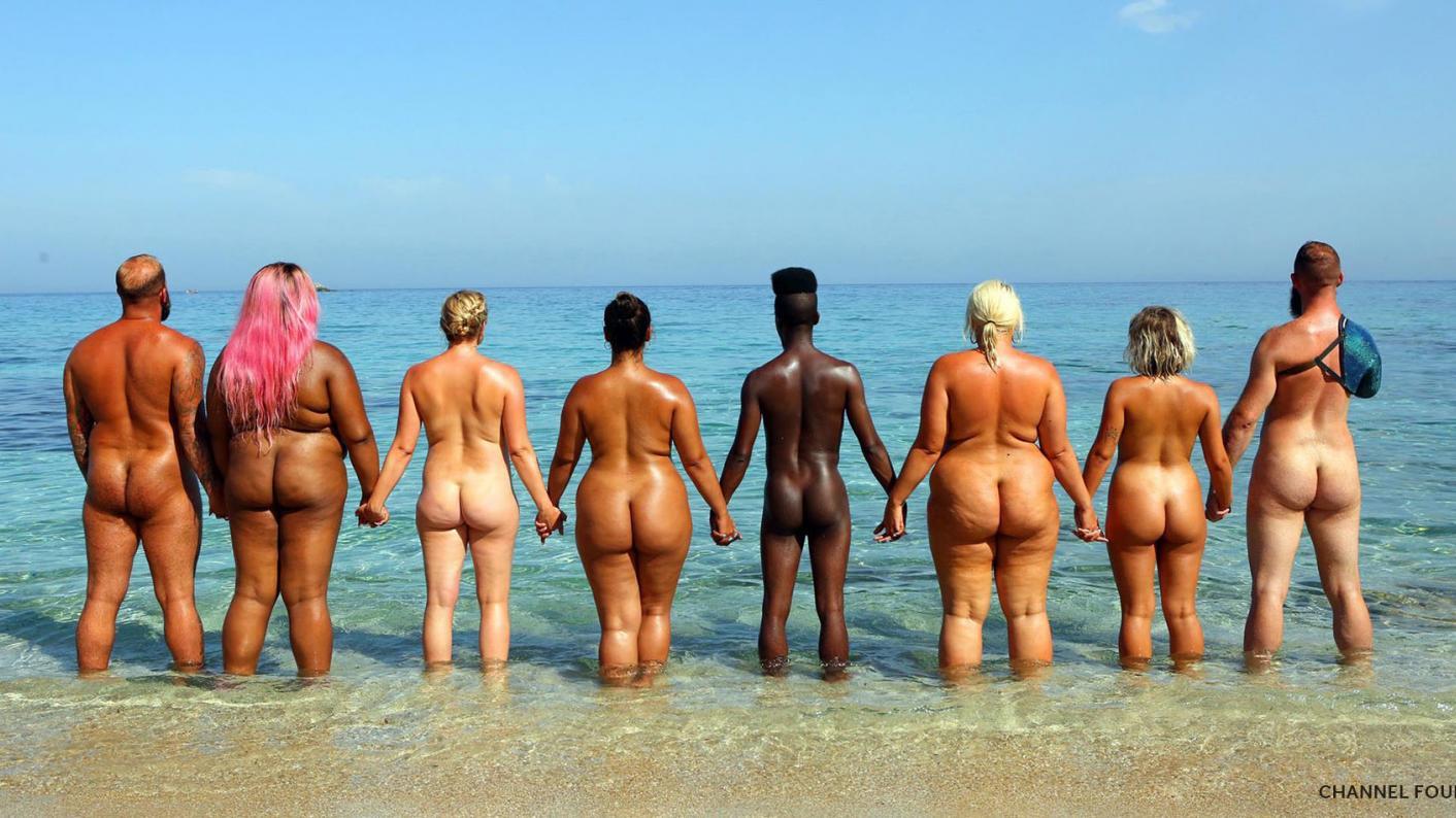 Nude beach sex porn