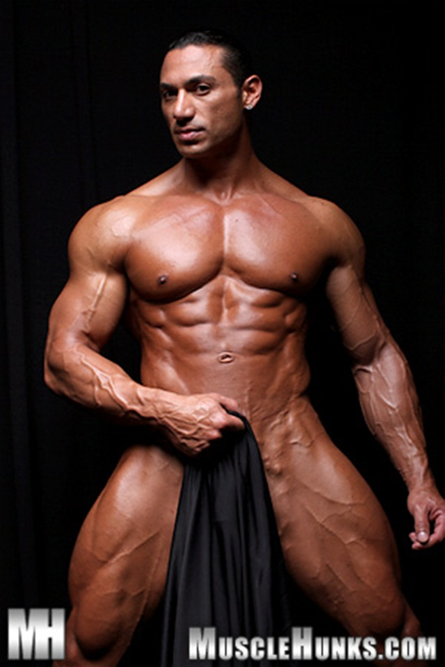 Wade trent muscle latino men