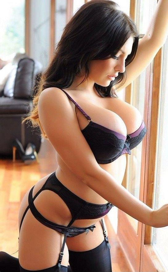 Hot woman lingerie nude