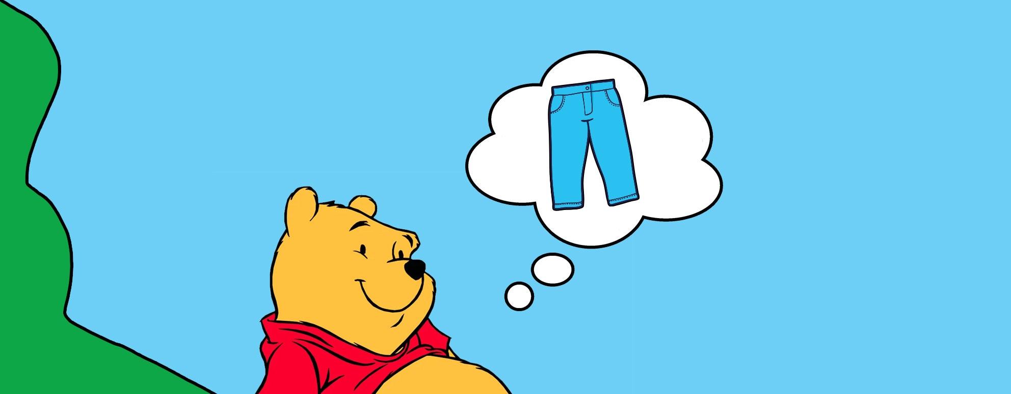 Winnie the poo naked