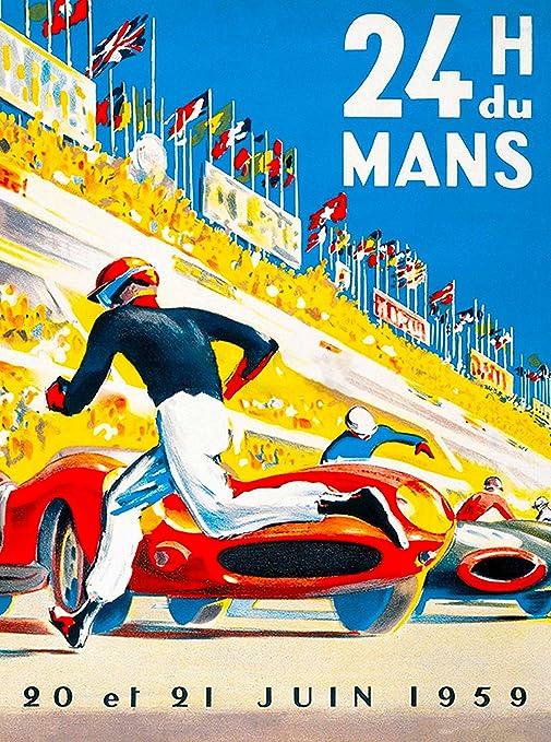 Vintage le mans poster