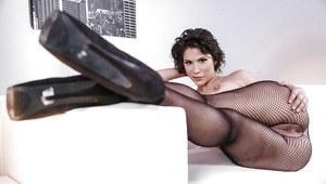 One legged girl naked